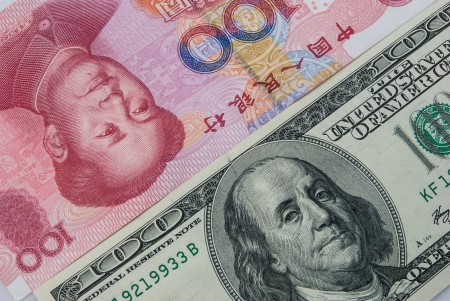 redemption of the world: USD vs RMB