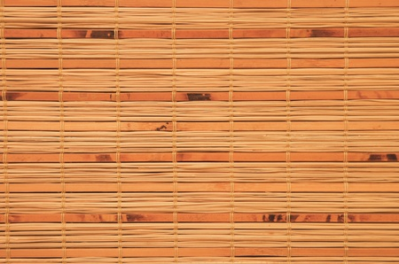 Bamboo blinds as background photo