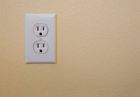 electrical outlet on a wall photo