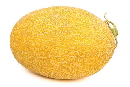Hami melon with clipping path Stock Photo