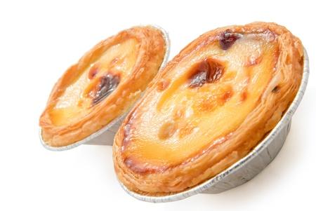 egg tart: portuguese egg tart