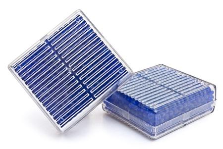 silica: silica gel