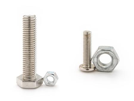 mismatch: two sets mismatch bolt and nut