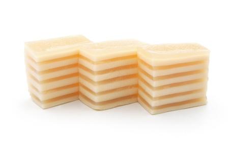 multilayer: casa postre de m�ltiples capas dulce con trazado de recorte