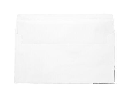 envelop: white envelop and blank paper