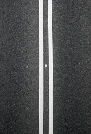 vertical divider: double white lines divider on blacktop vertical