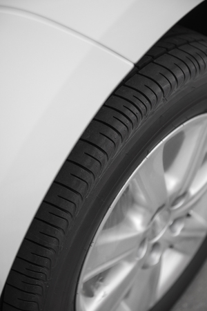 vertical composition: part of car, vertical composition Stock Photo