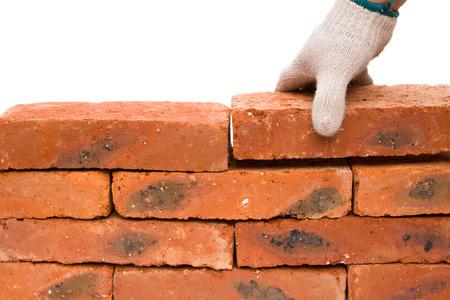 making up: making up a brick wall