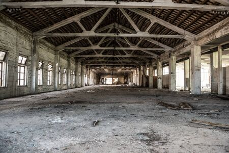 undecorated: Abandoned industrial loft
