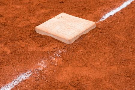 infield: base in baseball field