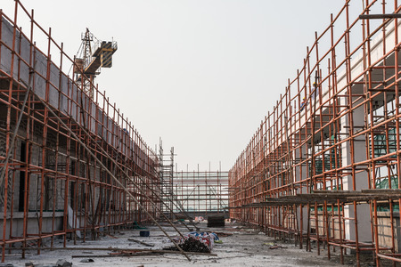site: construction site