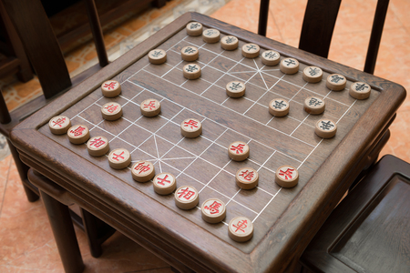strategist: Chinese chess and chessboard
