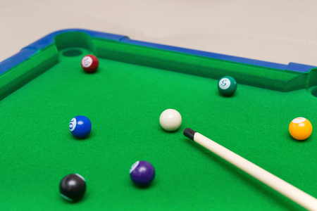 a small snooker toy set for children