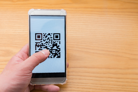 QR Code on mobile