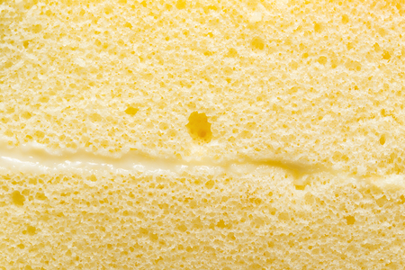 sponge cake close up as background and texture 版權商用圖片 - 109325319
