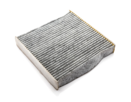 air filter on a white background