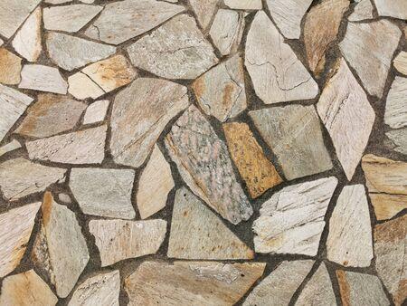 floor made of big rocks