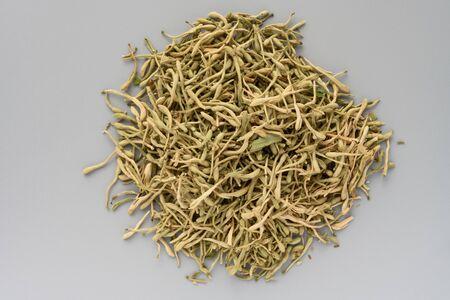 Traditional Chinese Medicinal Herb (JinYinHua) or Honeysuckle Flower, Flos Lonicerae