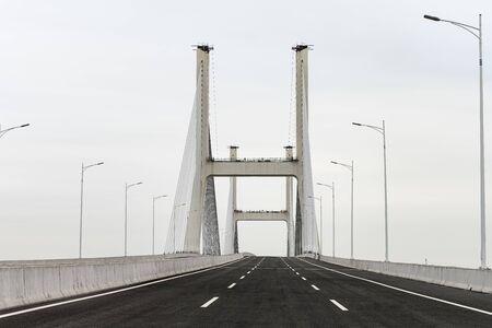empty bridge for a highway
