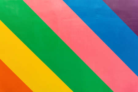 rough wall with 6-color stripes