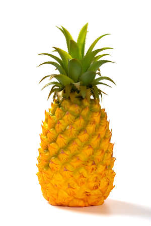 a dummy pineapple on a white background