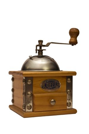 Traditional Coffee Grinder. Stock Photo
