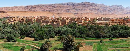 Tinerhir Oasis, Morocco.