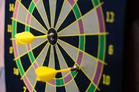 flew: The dart flew off and hit the bulls eye.