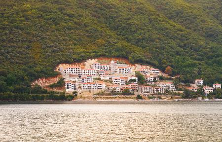 boka: Boka Kotor bay (Boka Kotorska), Montenegro, Europe. Kotor Bay is a UNESCO World Heritage Site