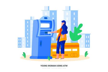 Lifestyle Vector Illustration concept. Can use for web banner, infographics, hero images. Flat illustration isolated on white background. 向量圖像
