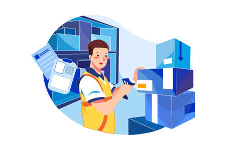 Various Occupations Vector Illustration concept. Can use for web banner, infographics, hero images. Flat illustration isolated on white background.