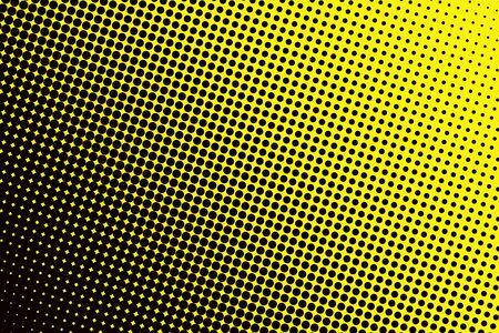 黒い斑点黄色ベースで背景 写真素材