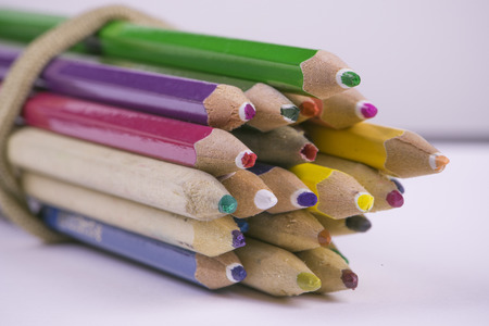 cluttered: Cluttered crayons