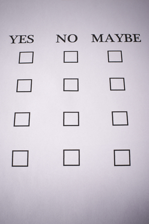 enlist: Test yes or no