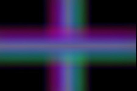 crosscountry: Background of colored lines forming a cross on a black background