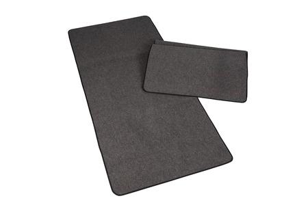 mats: Black floor mats