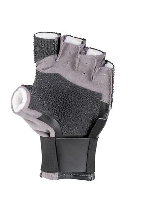 hang body: Black gloves