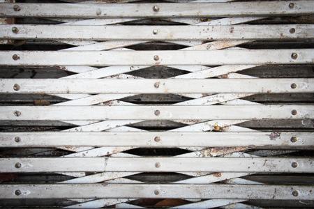 horizental: Rusty iron door grunge horizental background