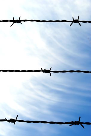 barbed wire Stock Photo - 6904759