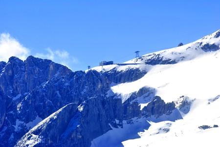 Summer portrait of Italian Dolomites in val di Fassa South Tyrol Alps Italy Stock Photo - 7303977