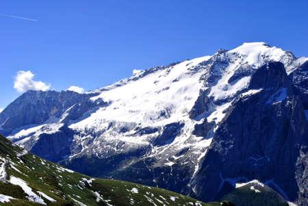 Summer portrait of Italian Dolomites in val di Fassa South Tyrol Alps Italy Stock Photo - 7304537