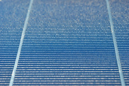 Solar Panel with background blue sky and white clouds Stock Photo - 7789477