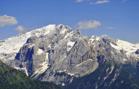 clearness: Summer portrait of Italian Dolomites in val di Fassa South Tyrol Alps Italy