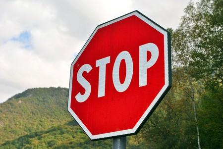 traffic signal: Arr�t de la signalisation routi�re