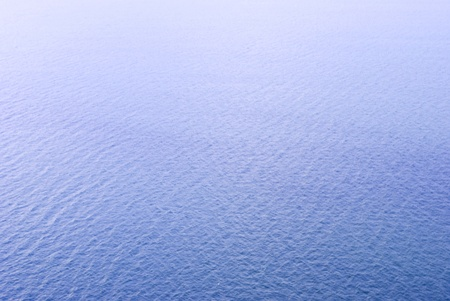 expanse of blue water texture Stock Photo