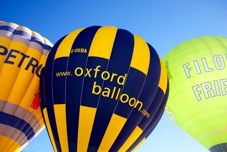 DOBBIACO, ITALY - JANUARY 15: Hot Air Balloon Festival in the Italian Dolomites January 15, 2011 In Dobbiaco, Trentino-South Tyrol - Italy Stock Photo - 8608204