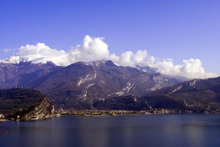 view of the lake garda Stock Photo - 8954869