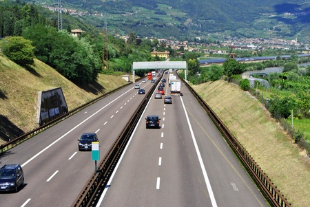 asphalt highway traffic fast