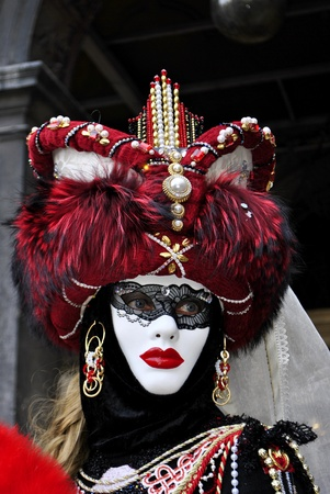 carnival masks, colorful and beautiful art. In Venice  Stock Photo - 9022045
