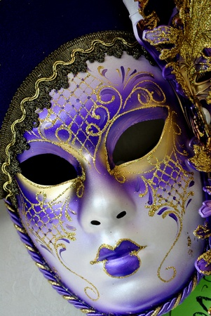 masks at the Venice carnival photo